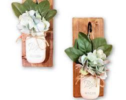 Wall Sconce Floral Arrangements Leaf Sconces Etsy