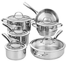 best cookware set deals in black friday stainless steel cookware sets shop the best deals for oct 2017
