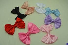 satin ribbon bows trail order princess hair bow tie clip satin ribbon bows hairpin