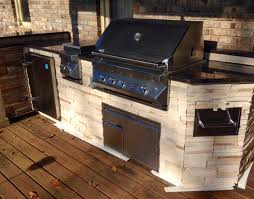 Kitchen Outdoor Ideas by Built In Turkey Fryer In Outdoor Kitchens Custom Outdoor