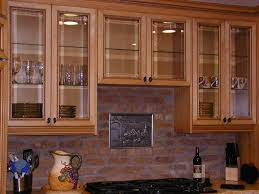 Glass Kitchen Wall Cabinets How To Make Glass Kitchen Cabinet Doors Image Collections Glass