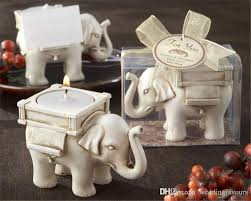 candle favors luck elephant tealight holder candle holder wedding favors
