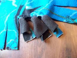 No Sew Project How To - how to make a no sew fleece throw u2013 mary martha mama