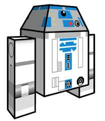 r2 d2 u2013 star wars papercraft