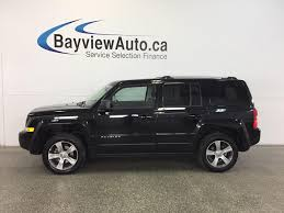 2017 jeep patriot sunroof used 2017 jeep patriot high altitude 4x4 sunroof htd lthr uconnect