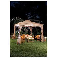 Patio Canopy Gazebo by Patio By Jamie Durie Garden Gazebo 3 3x3m Big W