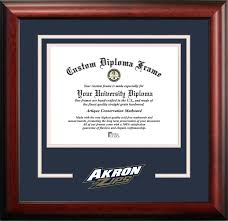 clemson diploma frame ncaa akron zips spirit diploma frame 8 5 x 11