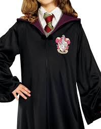 hermione granger halloween costumes harry potter gryffindor robe child halloween costume walmart com