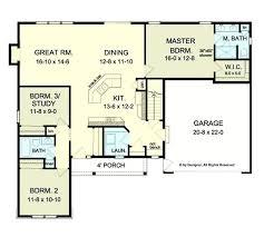 ranch house designs floor plans open floor plan home designs novic me