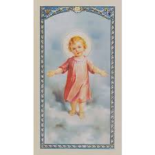 daily offering to the infant jesus prayer card the catholic company