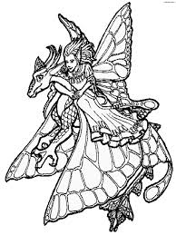 ridden dragon princess coloring pages for kids cjh printable