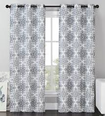 Blackout Window Curtains Vcny Sylvia Blackout Window Curtains Grommet Thermal 2 Panel Set