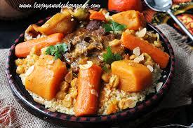 couscous algérien à l agneau et aux courges les joyaux de sherazade