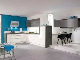 d馗oration int駻ieure cuisine cuisine turquoise et gris unique cuisine blanc bleu s de design d