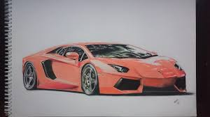 lamborghini car drawing lamborghini aventador drawing i finished a few months ago page