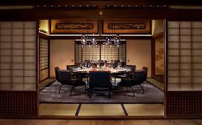 Building Dining Room Table Italian Restaurant Kyoto The Ritz Carlton Kyoto