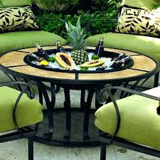 patio table with fire pit patio furniture with fire pit alluring patio furniture fire pit