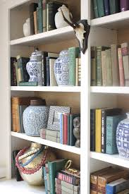 Bookshelf Styling More Bookshelf Styling U2026 And See My Grasscloth Backed Shelves