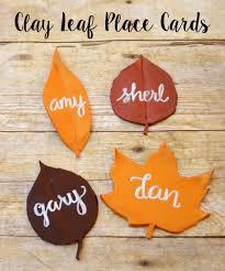 fall leaf placecards one artsy
