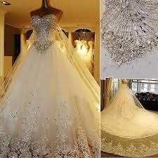 in store lace wedding dresses 2015 new luxury cathedral