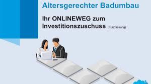 Zuschuss Behindertengerechtes Bad Altersgerechter Badumbau Ihr Onlineweg Zum Investitionszuschuss