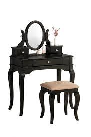 Bedroom Vanity Sets Bedroom Vanities Bedroom Large Black Vanity Table With Small