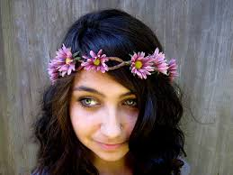 hippie flower headbands summer lovin magnify your stlye