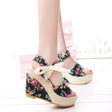 ribbon wedges women s wedges womens fashion factory