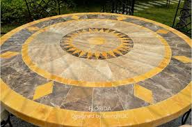 Mosaic Dining Room Table Mosaic Table Top Exterior Craftsman With Dining Table Patio Garden