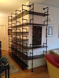 Black Pipe Shelving by Pipe U0026 Pallet Shelf More Pallet Shelves Plumbing And Shelving Ideas