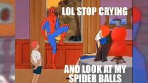 Spierman Meme - 60s spiderman meme youtube