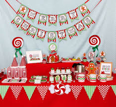 house party ideas gingerbread house party christmas holiday party ideas photo 6 of