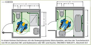 barrierefrei badezimmer barrierefreies bad richtig planen mit önorm maße zuschüsse