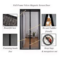 Magnetic Fly Screen For French Doors by The 11 Best Magnetic Screen Door In 2017 Reviews U0026 Buyer Guide