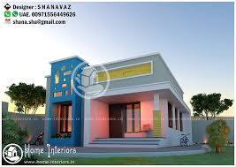 home design 640 sq ft low cost single storied modern home design home interiors