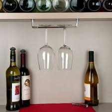 chrome plated glass hanger rack
