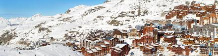 val thorens off the piste