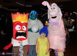 inside out costumes out family costume
