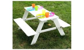 childrens wooden picnic table benches childrens wooden picnic tables kids table bench outdoor