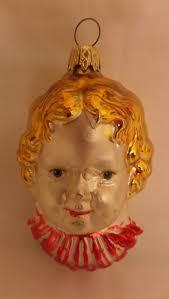 antique vintage 1920 s blown mercury glass little girl christmas