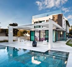 mediterranean home modern house design with swimming pool swimmingpools modern