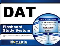 dat flashcard study system dat exam practice questions u0026 review