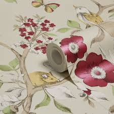B Q Bedroom Wallpaper 9 Best Wallpaper Images On Pinterest Colours Floral Wallpapers
