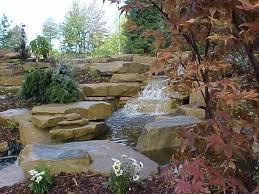 Waterfall For Backyard by Waterfall Stone Backyard Pond Stone Water Feature Stone Ideas