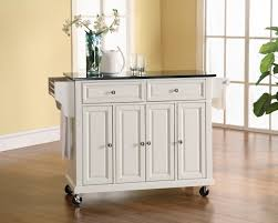 Kitchen Wine Cabinet Portable Kitchen Island With Wine Rack Outofhome