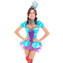 Mad Hatter Halloween Costume Girls Popular Mad Hatter Halloween Costumes Buy Cheap Mad