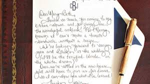 Thank You Letter After A Business Meeting by How To Write A Charming Thank You Note Southern Living