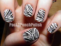 zebra pattern nail art zebra print nail art how you can do it at home pictures designs
