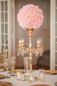 gold candelabra pink rose wedding reception centerpiece casey