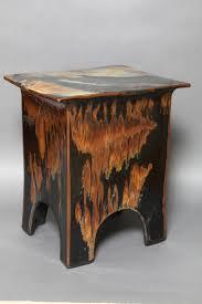 Ceramic Side Table Eric O Leary Glazed Ceramic Side Table 3 Catalog The